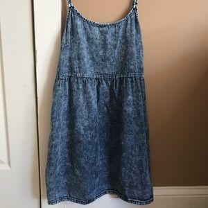 Mini dress jean wash size S